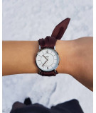 Montre bracelet en satin just parrot
