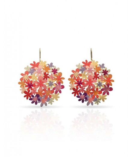 Boucles d'oreilles Collection Hortensia