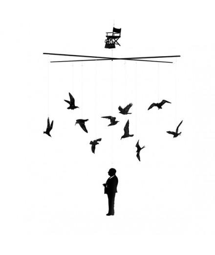 mobile les oiseaux d'hitchcock