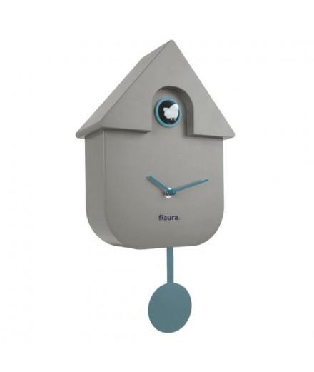 Horloge coucou gris