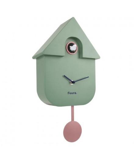 Horloge coucou vert