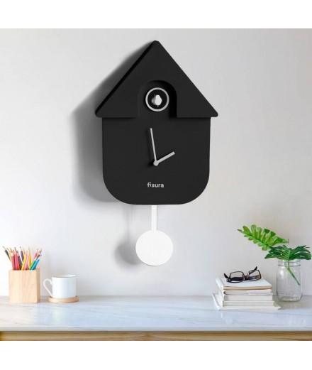 Horloge coucou noir