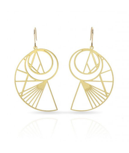 Boucles d'oreilles collection Leonard de Vinci