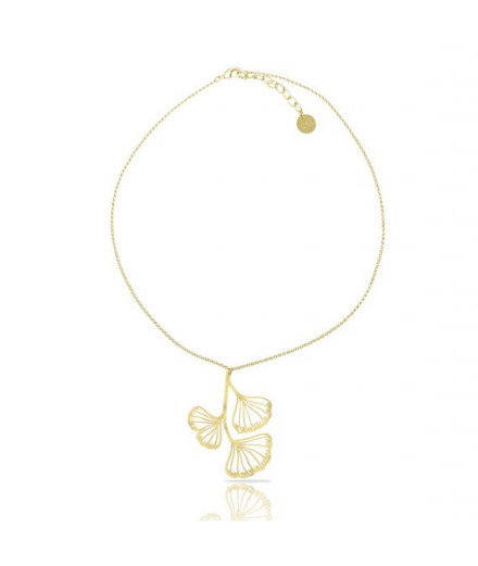 Collier Collection feuille gingko