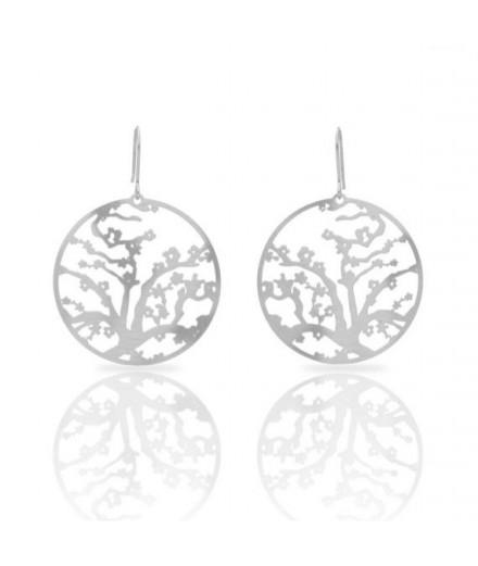 Boucles d'oreilles fleurs de cerisier